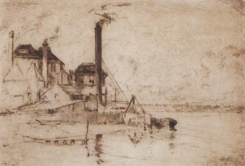smoke and water swan brewery by henri van raalte