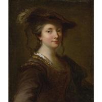 portrait of a lady (louise julie de nesle, comtesse de mailly?) by alexis grimou