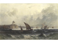 off the cornish coast by theodor alexander weber