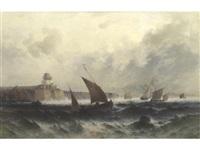 off the cornish coast by theodor alexander weber