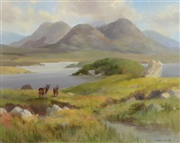ballinahinch, connemara by susan mary webb