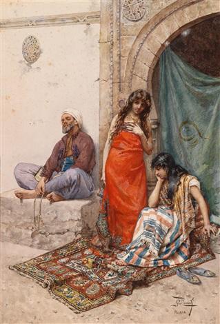 Am Sklavenmarkt by Giulio Rosati on artnet