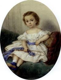 le jeune et le futur duc de m, à l'âge de 7 ans by héloïse suzanne colin leloir