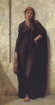 orientalische tänzerin by arthur hill