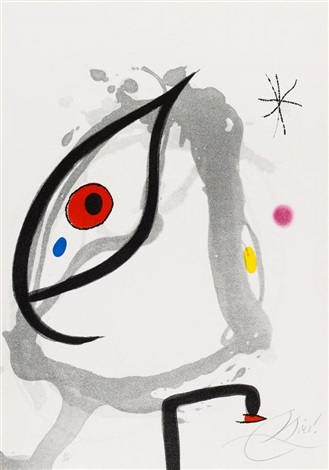 passage de legyptienne by joan miró