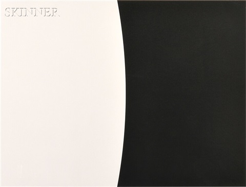 corneilla from the third curve series by ellsworth kelly