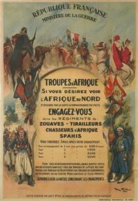 troupes d'afrique by george bertin scott
