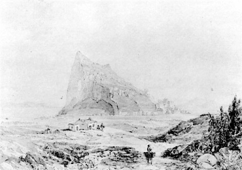 gibraltar from spain by john miller general sir adye