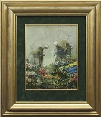 painting 975 (dutch) by jerzy duda-gracz