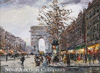 arc de triomphe by robert lebron