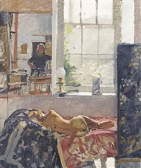 the artist's model by ken howard