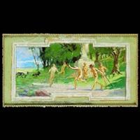senza titolo (preparatory study for the palazzo libera di villa lagarina) by alcide davide campestrini