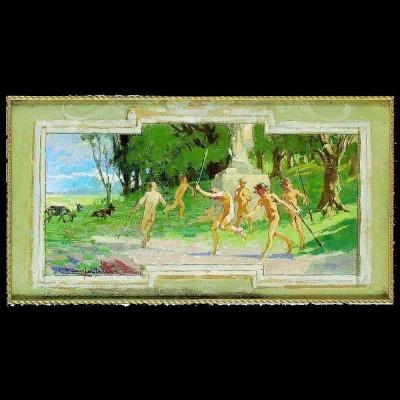 senza titolo preparatory study for the palazzo libera di villa lagarina by alcide davide campestrini