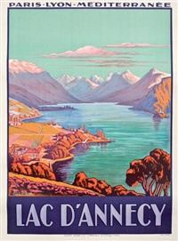 PLM. Lac d'Annecy, 1926