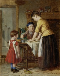 a finger in the pie (+ bob-cherry; pair) by william hemsley