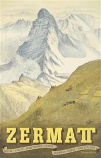 zermatt by emil aufdenblatten