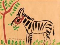 a tu bishvat zebra by nachum gutman
