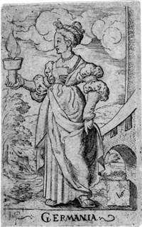 allegorische und geschichtliche darstellungen (from vier temperamente; 3 works) by virgil solis