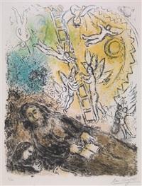 le prophéte by marc chagall
