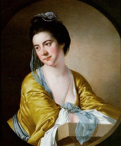 Yellow Dress Blue Sash