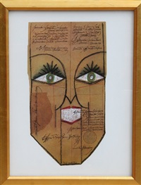 untitled (face) by saul steinberg