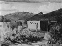 new mexico pueblos by rose b. shleppey