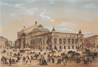 the paris opera by charles fichot