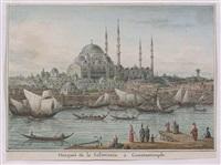 mosquée de la solimanie à constantinople by jean-baptiste hilaire