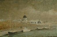st. paul's from waterloo bridge by john spencer churchill