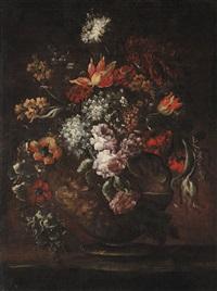 blumen in einer vase by anonymous-italian (18)