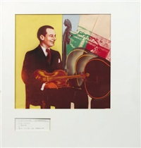 stéphane grappelli by guy peellaert