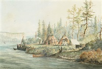 from h. bay post, red rock, nepigon (sic) by william wallace armstrong
