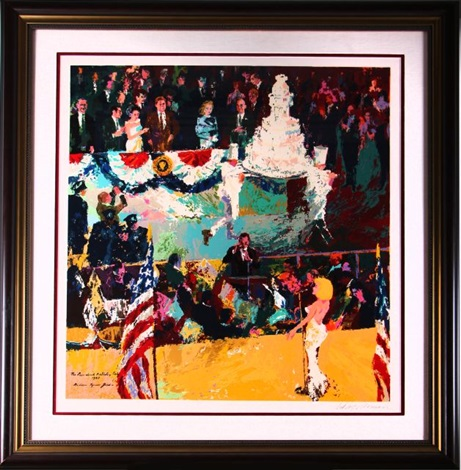 happy birthday mr president by leroy neiman