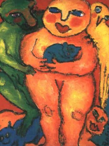 loiseau jaune by monique peytral