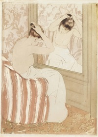 the coiffure by mary cassatt