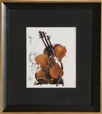 violin 4 by arman