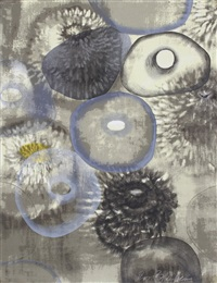 happiness for instance iii by ross bleckner