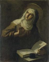 santa teresa d'avila by giuseppe mastroleo