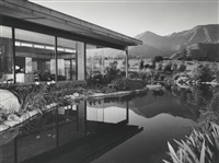 the james moore house, richard neutra, ojai, california by julius shulman