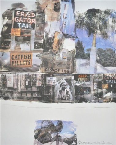 catfish tales by robert rauschenberg