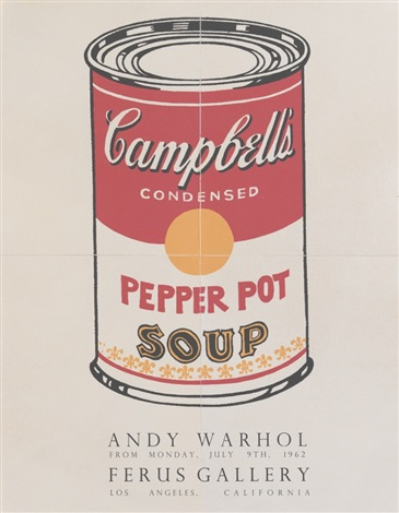 campbells soup pepper pot by andy warhol