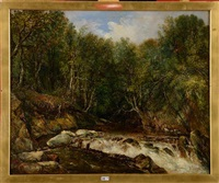 rivière en forêt by dionisio fierros
