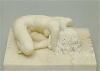 primavera (reclining figure) by manuel de la fuente