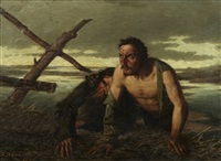 les naufragés by pavel filippovich yakovlev