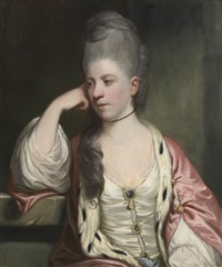 portrait of miss anne mead by joshua reynolds