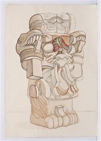 coatlicue ii by arnold belkin
