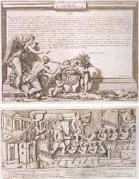 colona traiana erigida por el senado y el pueblo italiano al emperador trajano augusto en el foro de roma by pietro santi bartoli