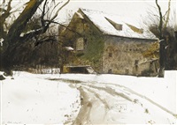 grist mill by andrew wyeth