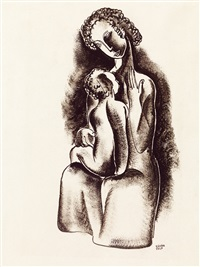 motherhood by béla kádár