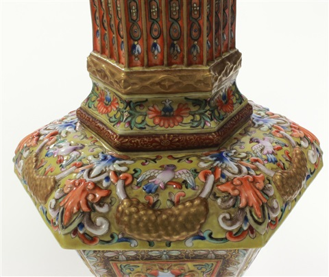 18th century chinese imperial famille rose vase